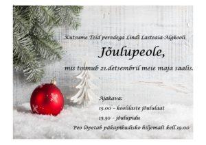 Jõuluüritus